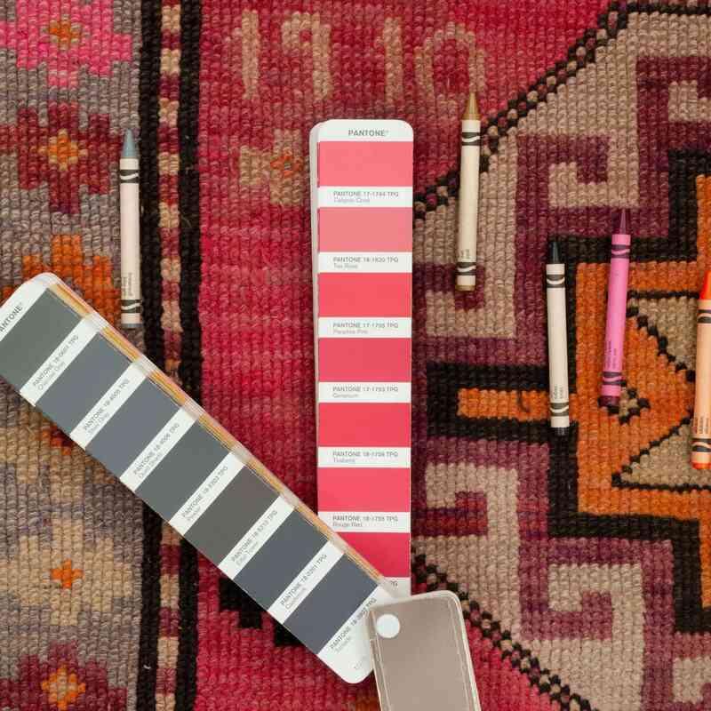 El Dokuma Antika Kars Halısı - 138 cm x 275 cm - K0047087