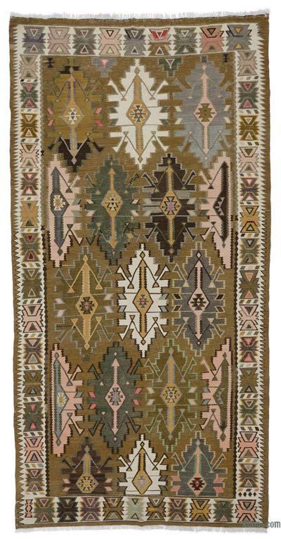 Vintage Shirvan Kilim Rug