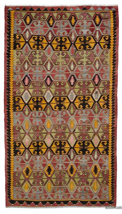 Alfombra Vintage Konya Kilim - 177 cm x 310 cm