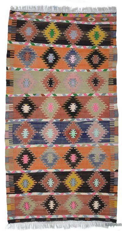 Alfombra Vintage Afyon Kilim