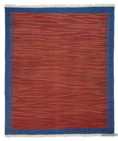 "New Turkish Kilim Rug - 7' 11"" x 9' 1"" (95 in. x 109 in.)"