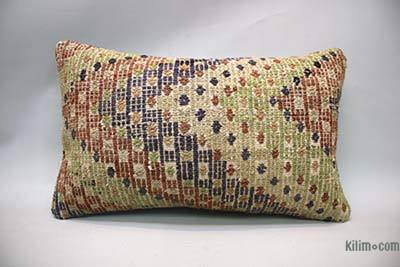 "Turkish Pillow Cover - 1'8"" x 1' (20 in. x 12 in.)"