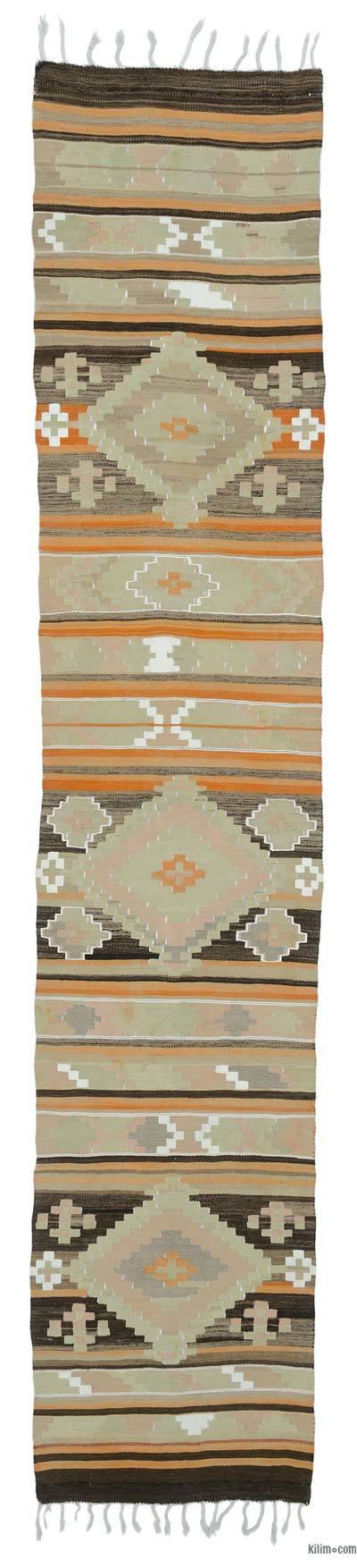 Nueva Alfombra Turca Kilim - 77 cm x 387 cm