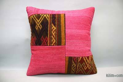 "Turkish Pillow Cover - 1' 4"" x 1' 4"" (16 in. x 16 in.)"