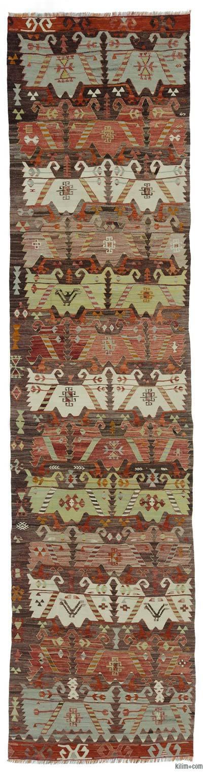 Corredor Vintage Afyon Kilim - 82 cm x 323 cm