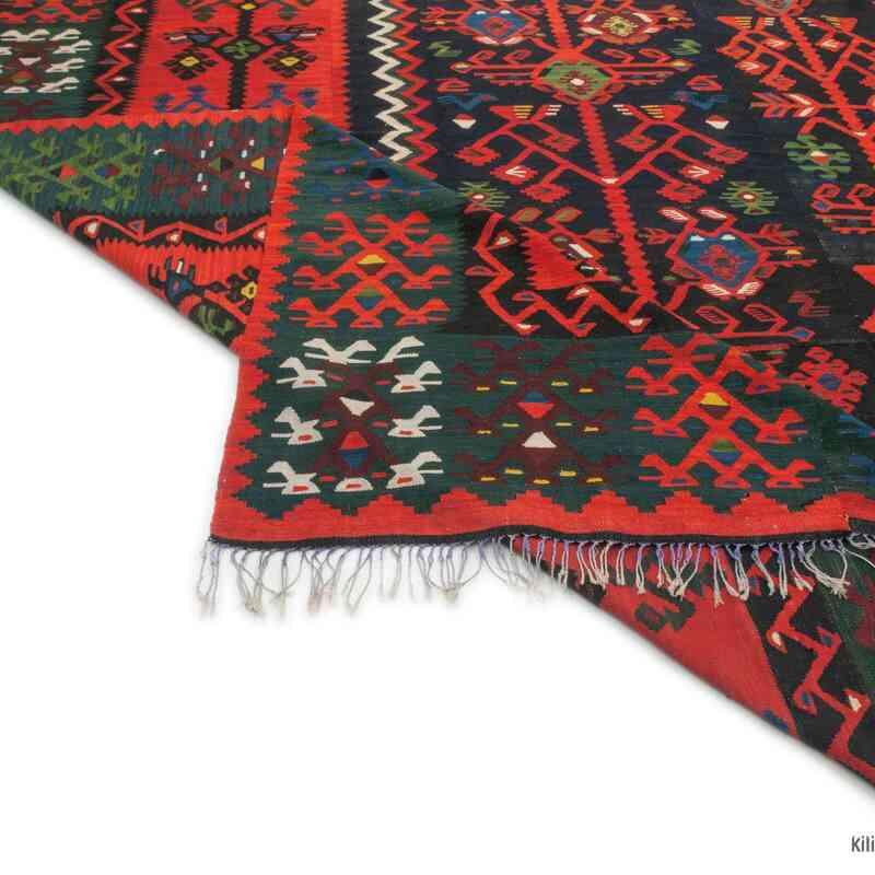 Çok Renkli Manastır Kilimi - 398 cm x 416 cm - K0047819