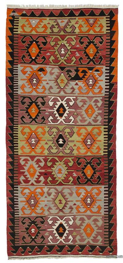Alfombra Vintage Konya Kilim - 158 cm x 351 cm