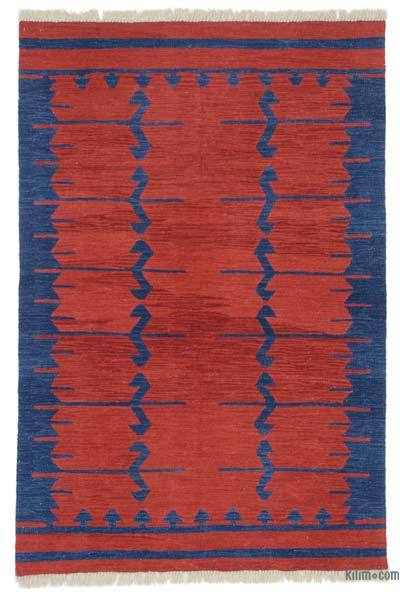 New Turkish Kilim Rug - 4'  x 6'  (48 in. x 72 in.)