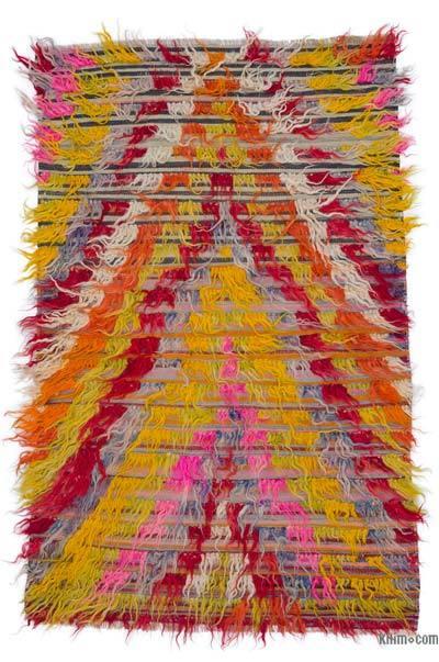 Multicolor Alfombra Vintage de Anatolia Tulu