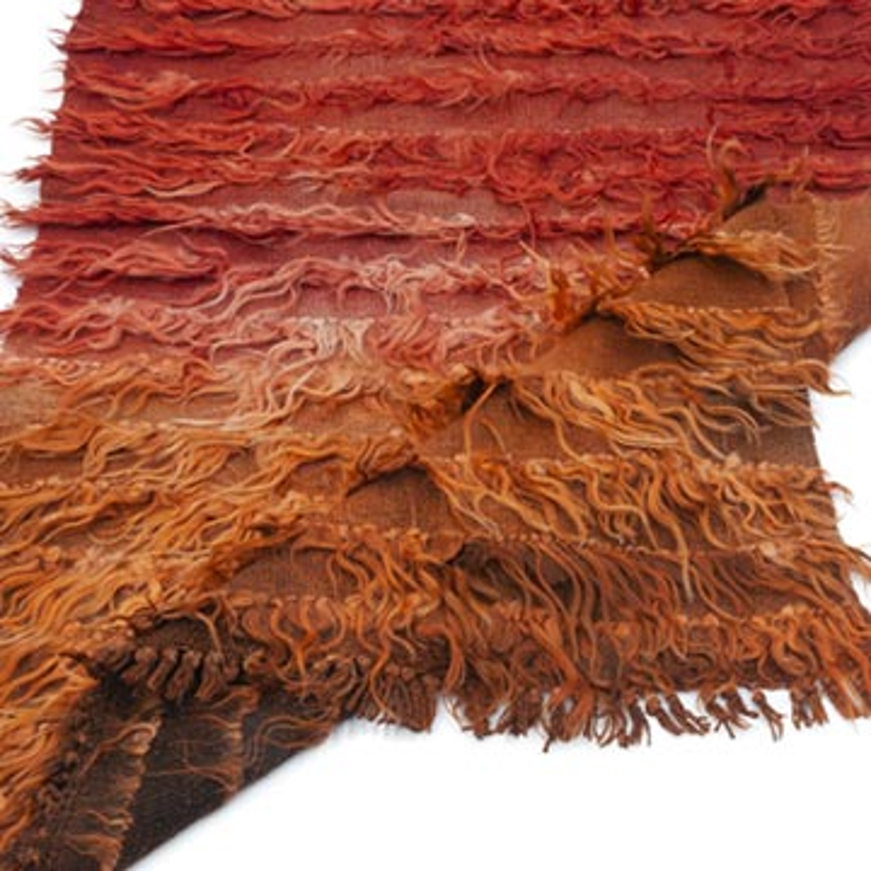 Kırmızı Vintage Anadolu Tülü - K0047844