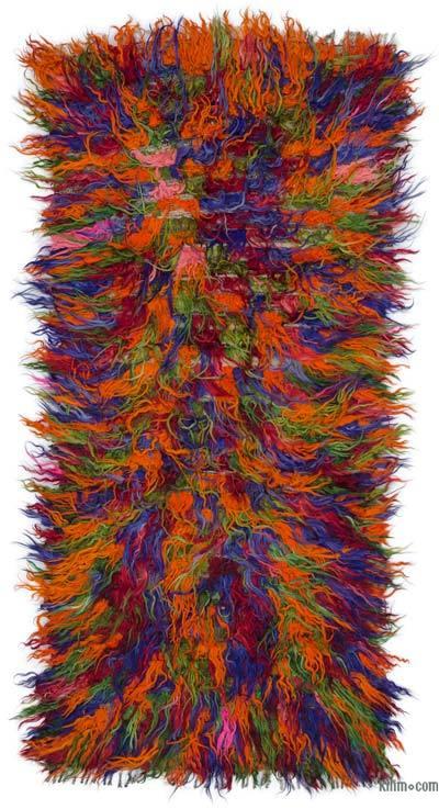 Vintage Anatolian Tulu Rug