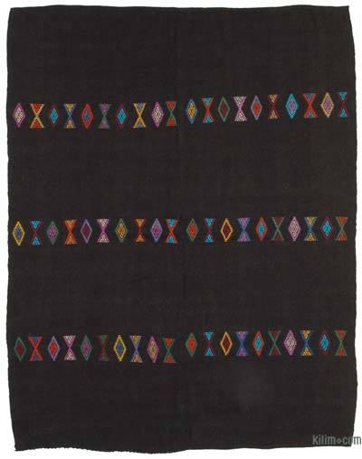 Kahverengi Vintage Anadolu Kilim - 234 cm x 294 cm