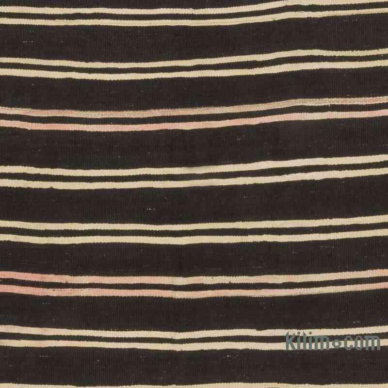 Kahverengi Vintage Anadolu Kilim - 203 cm x 340 cm - K0047896