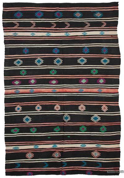 Alfombra Vintage Anatolian Kilim - 238 cm x 358 cm