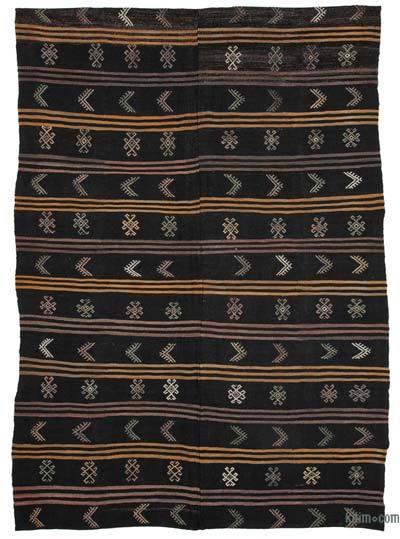 Kahverengi Vintage Anadolu Kilim - 223 cm x 320 cm