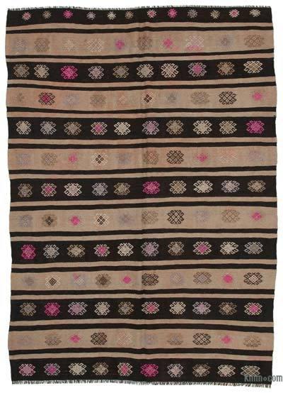 "Vintage Anatolian Kilim Rug - 6' x 8'6"" (72 in. x 102 in.)"