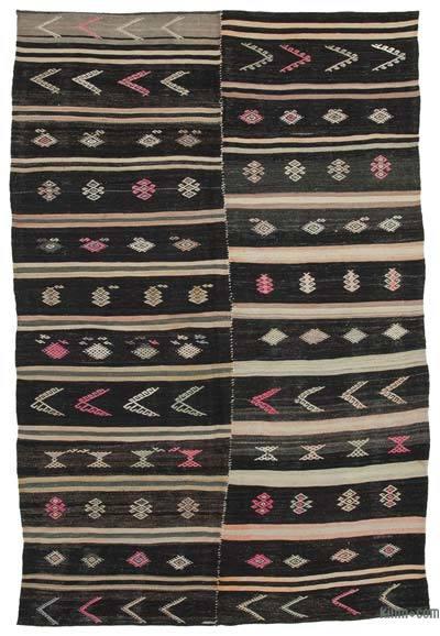 Alfombra Vintage Anatolian Kilim - 183 cm x 275 cm