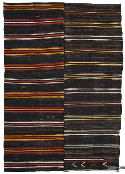 "Vintage Anatolian Kilim Rug - 8'  x 11' 5"" (96 in. x 137 in.)"