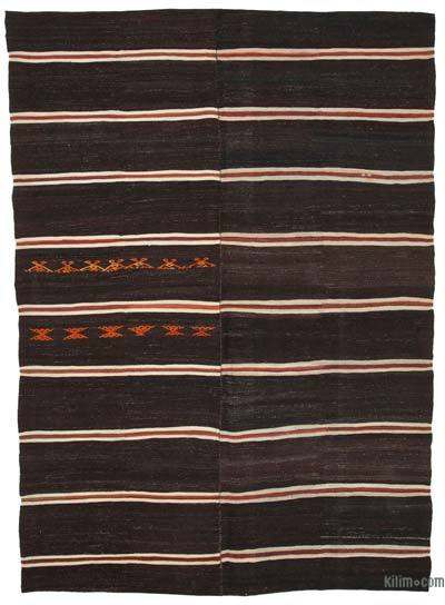"Vintage Anatolian Kilim Rug - 7' 10"" x 10' 6"" (94 in. x 126 in.)"