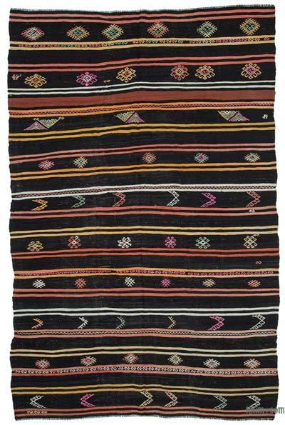 Alfombra Vintage Anatolian Kilim - 243 cm x 383 cm