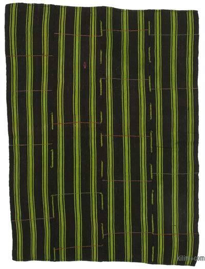 "Vintage Anatolian Kilim Rug - 5'6"" x 7'3"" (66 in. x 87 in.)"