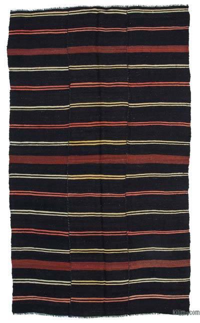 "Vintage Anatolian Kilim Rug - 6'  x 10' 3"" (72 in. x 123 in.)"