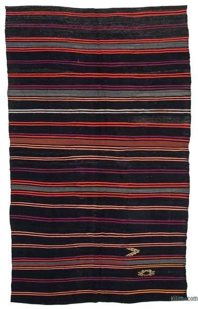 Alfombra Vintage Anatolian Kilim - 204 cm x 332 cm