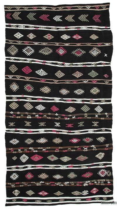 Vintage Anadolu Kilim - 153 cm x 301 cm