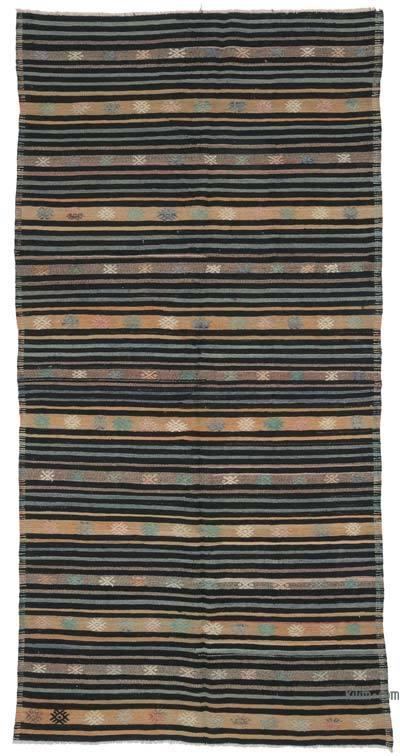 Alfombra Vintage Anatolian Kilim - 160 cm x 310 cm