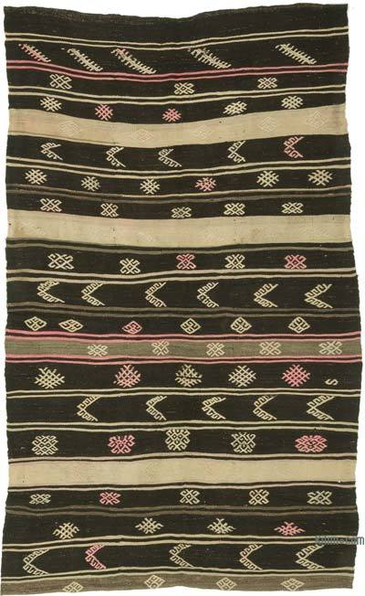 Alfombra Vintage Anatolian Kilim - 193 cm x 328 cm