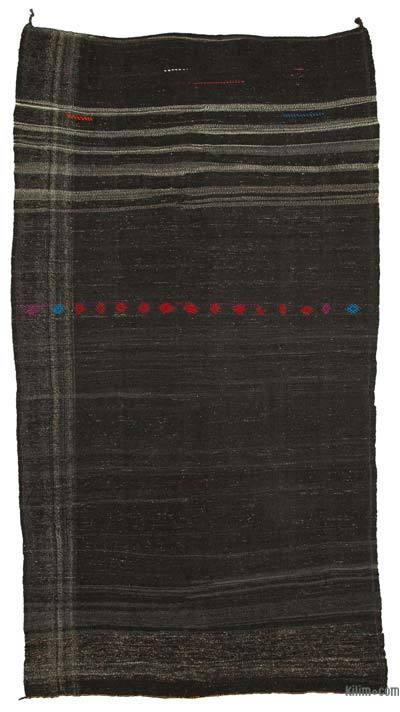 "Vintage Anatolian Kilim Rug - 6'4"" x 11'10"" (76 in. x 142 in.)"