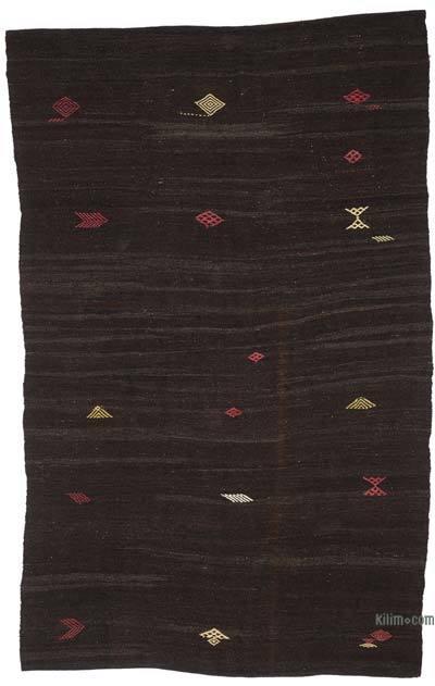 "Vintage Anatolian Kilim Rug - 6'4"" x 10' (76 in. x 120 in.)"