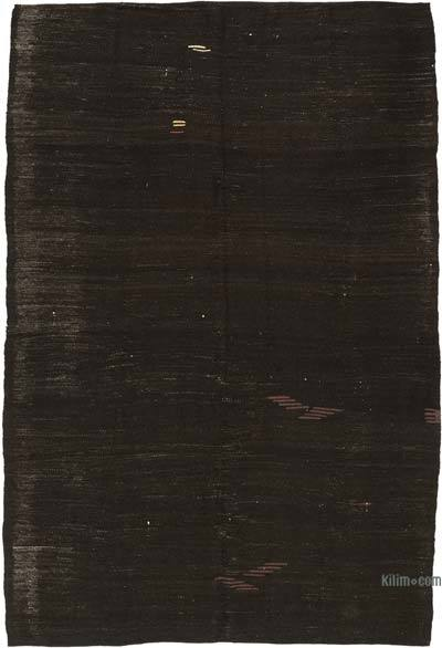 "Vintage Anatolian Kilim Rug - 6' 8"" x 10' 2"" (80 in. x 122 in.)"