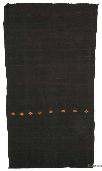 "Vintage Anatolian Kilim Rug - 6' 1"" x 10' 9"" (73 in. x 129 in.)"