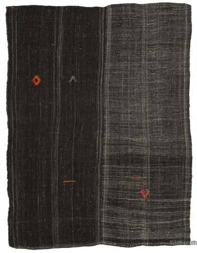 "Vintage Anatolian Kilim Rug - 6' 9"" x 8' 11"" (81 in. x 107 in.)"