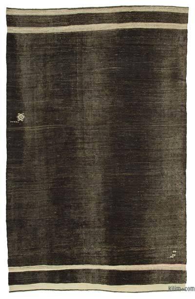 "Vintage Anatolian Kilim Rug - 6' 7"" x 10' 5"" (79 in. x 125 in.)"