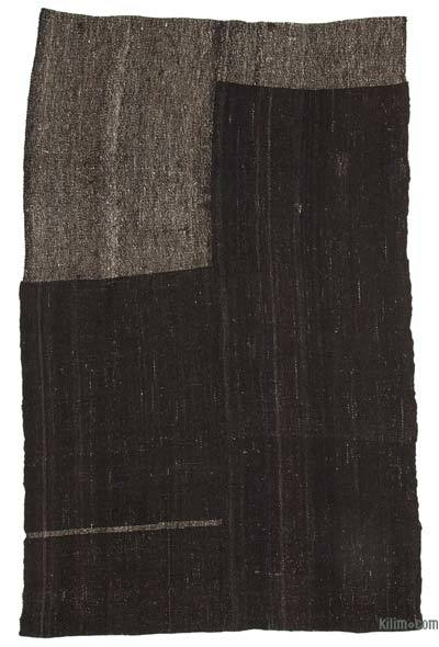 "Vintage Anatolian Kilim Rug - 5' 5"" x 8' 11"" (65 in. x 107 in.)"