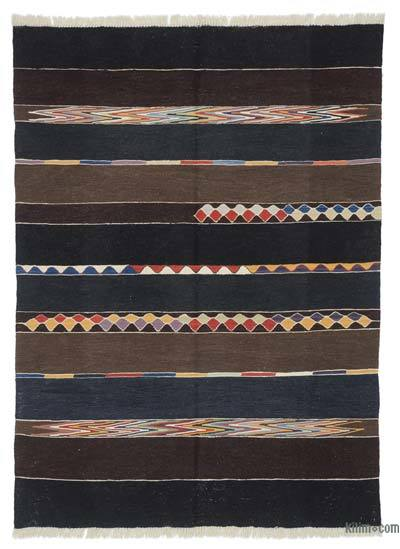 "New Turkish Kilim Rug - 5' 2"" x 7'  (62 in. x 84 in.)"
