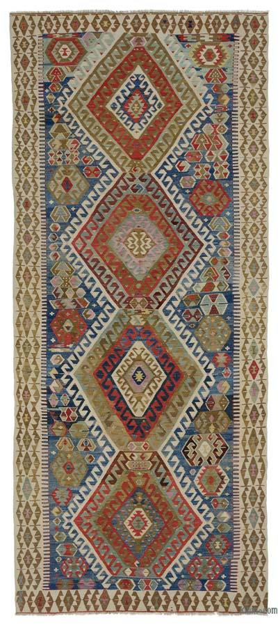 "Antique Sivrihisar Kilim Rug - 5' 11"" x 13' 9"" (71 in. x 165 in.)"