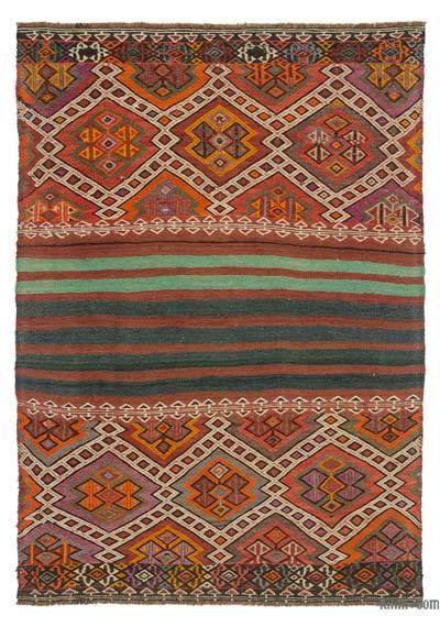 Vintage Bayburt Kilimi - 120 cm x 167 cm