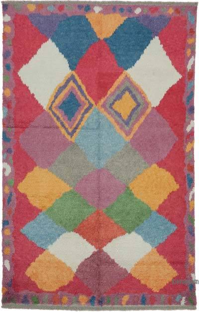 Çok Renkli Anadolu Tülü Halı - 202 cm x 323 cm