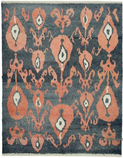 "New Turkish Tulu Area Rug - 7' 11"" x 10' 2"" (95 in. x 122 in.)"