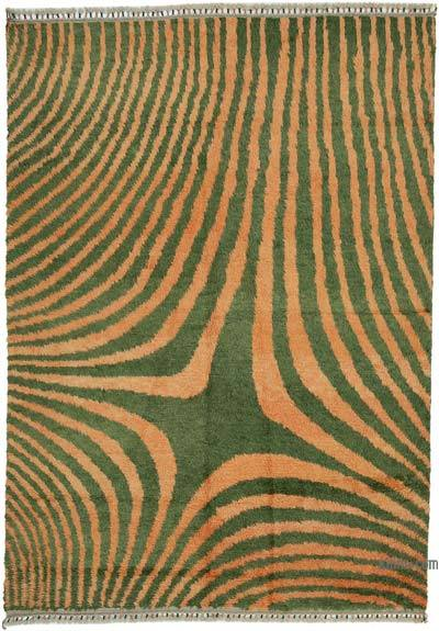 "New Turkish Tulu Area Rug - 7'10"" x 11'2"" (94 in. x 134 in.)"