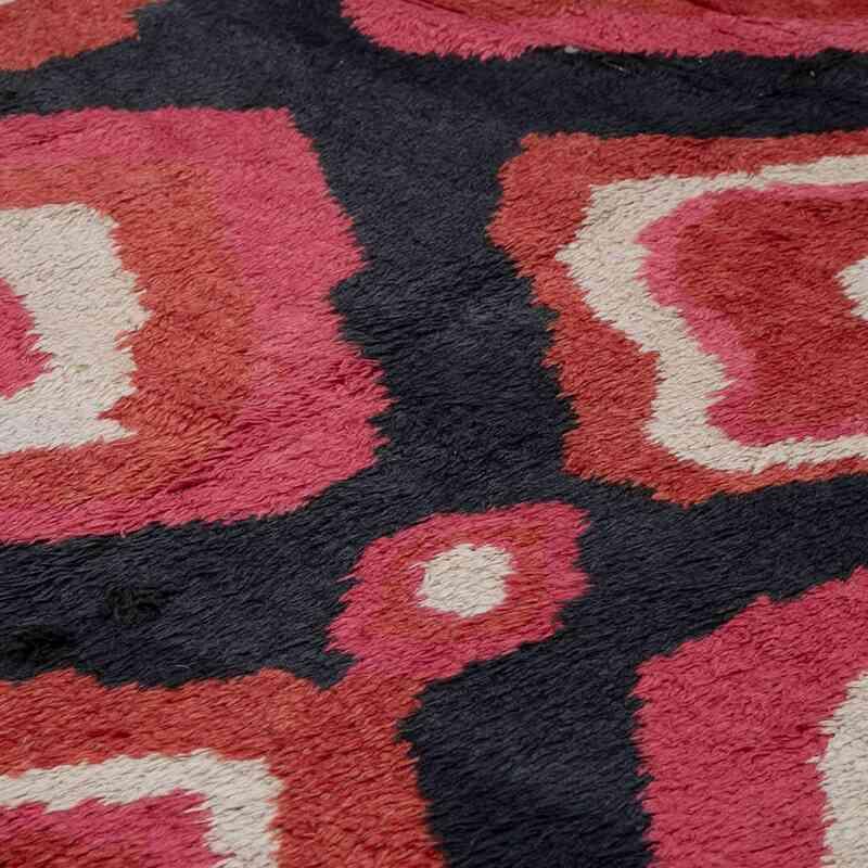 Multicolor New Turkish Tulu Area Rug - 8' 10# x 13' 7# (106 in. x 163 in.) - K0048060