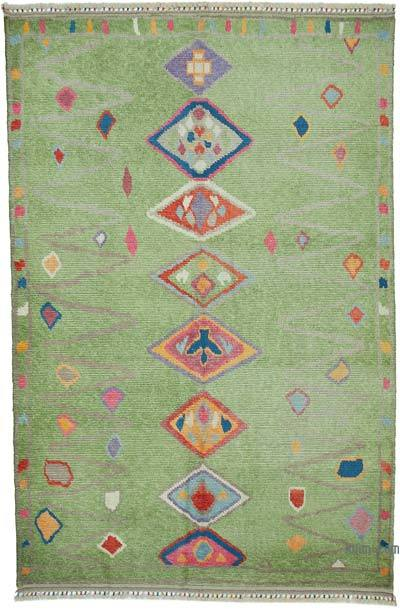 "New Turkish Tulu Area Rug - 7' 10"" x 11' 11"" (94 in. x 143 in.)"