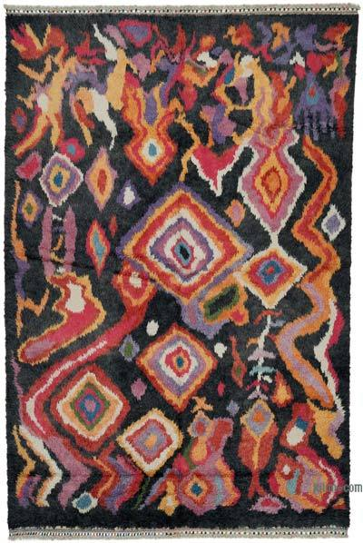 "Multicolor New Turkish Tulu Area Rug - 7' 10"" x 11' 10"" (94 in. x 142 in.)"