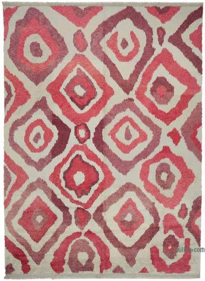 "New Turkish Tulu Area Rug - 9' 3"" x 12' 9"" (111 in. x 153 in.)"