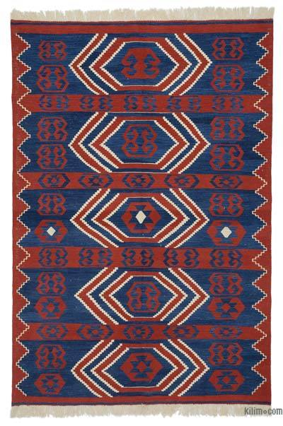 "New Turkish Kilim Rug  - 5' 9"" x 8' 6"" (69 in. x 102 in.)"