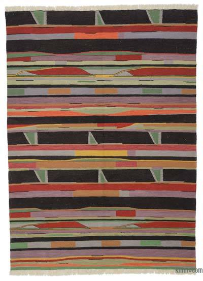"New Turkish Kilim Rug  - 6' 1"" x 8' 2"" (73 in. x 98 in.)"
