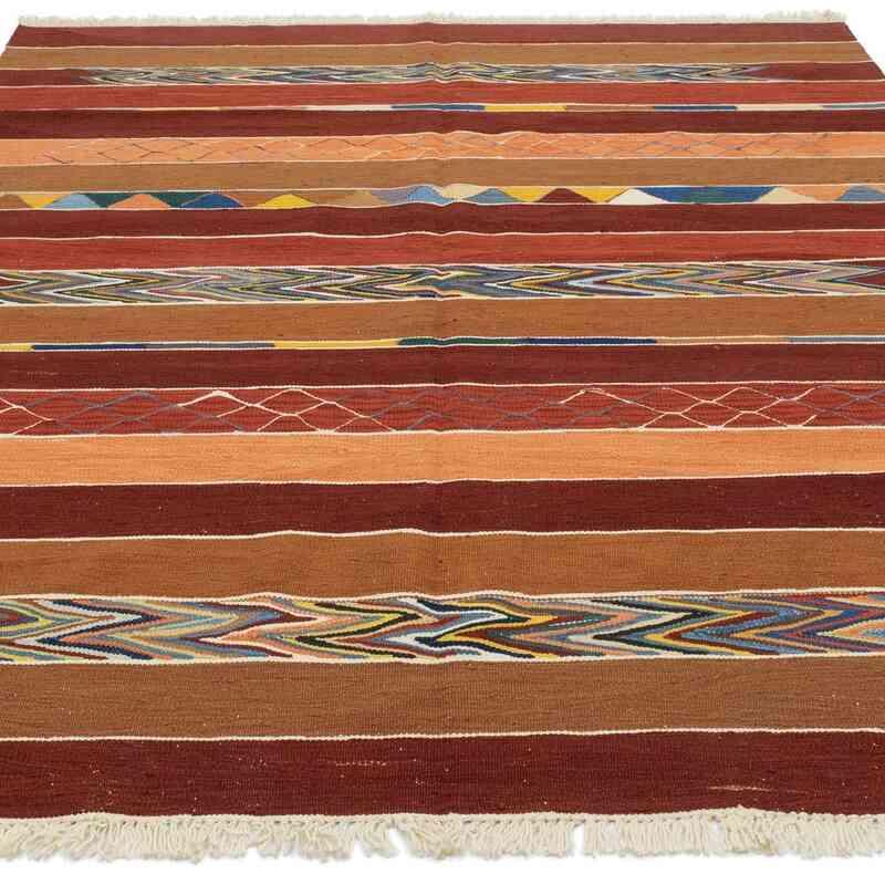 Yeni Kök Boya El Dokuma Kilim - 171 cm x 243 cm - K0048249